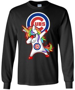 image 379 247x296px Chicago Cubs Unicorn Dabbing T Shirts, Hoodies, Tank Top
