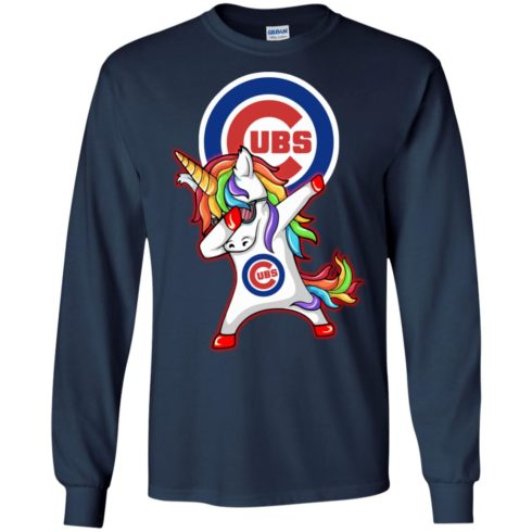 image 380 490x490px Chicago Cubs Unicorn Dabbing T Shirts, Hoodies, Tank Top