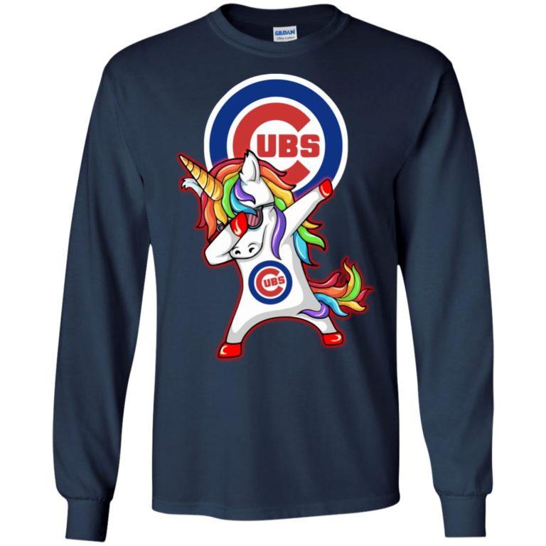 image 380 768x768px Chicago Cubs Unicorn Dabbing T Shirts, Hoodies, Tank Top