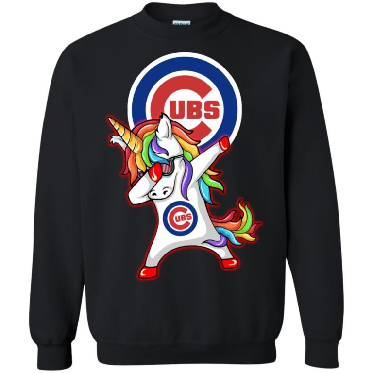 image 383 768x768px Chicago Cubs Unicorn Dabbing T Shirts, Hoodies, Tank Top