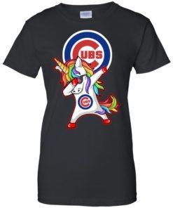 image 385 247x296px Chicago Cubs Unicorn Dabbing T Shirts, Hoodies, Tank Top