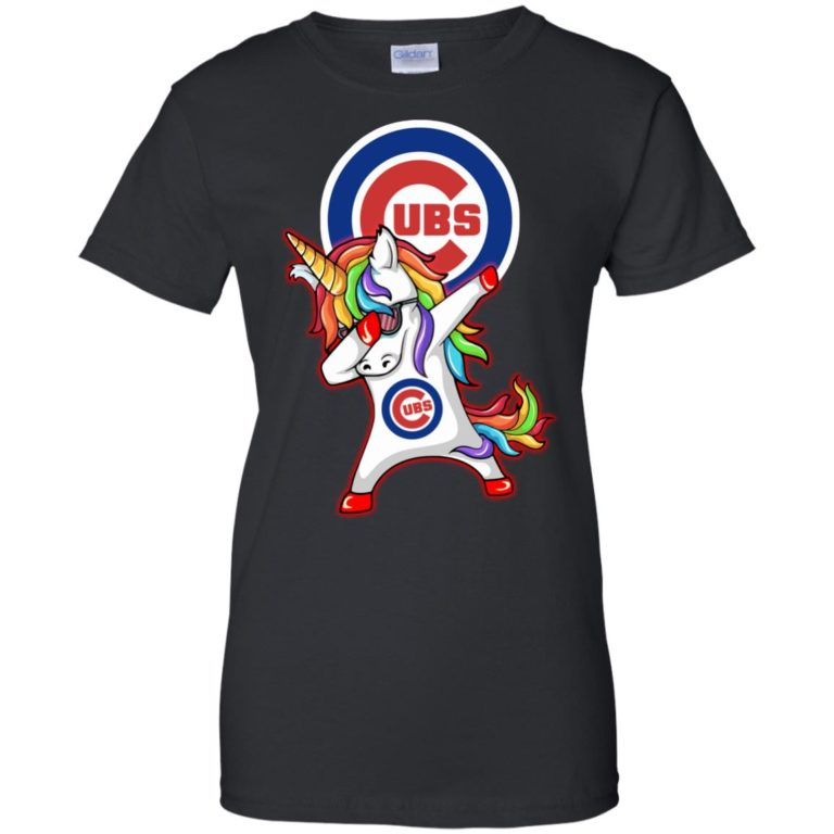 image 385 768x768px Chicago Cubs Unicorn Dabbing T Shirts, Hoodies, Tank Top