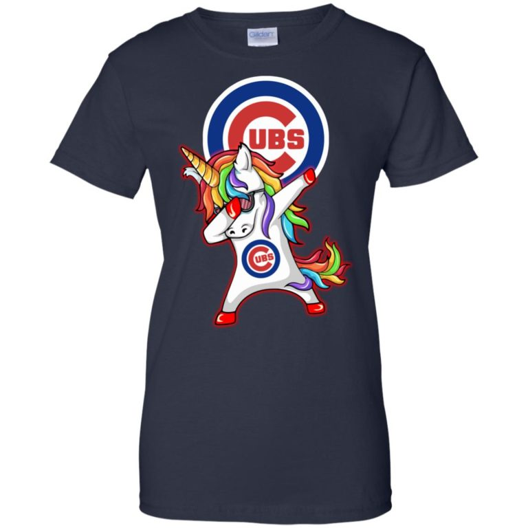 image 386 768x768px Chicago Cubs Unicorn Dabbing T Shirts, Hoodies, Tank Top