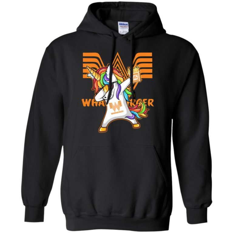 image 401 768x768px Unicorn Dabbing Whataburger T Shirts, Hoodies, Tank Top