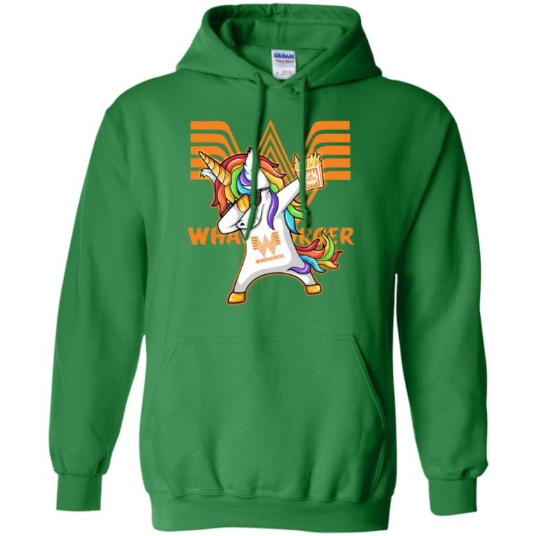 image 402 768x768px Unicorn Dabbing Whataburger T Shirts, Hoodies, Tank Top