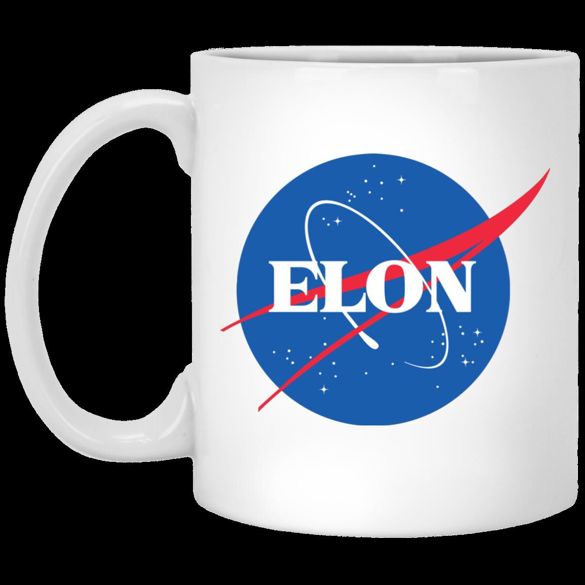 imagepx Elon Nasa parody coffee mug