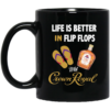 image 100x100px Life Is Better In Flip Flops With Firebal Mug