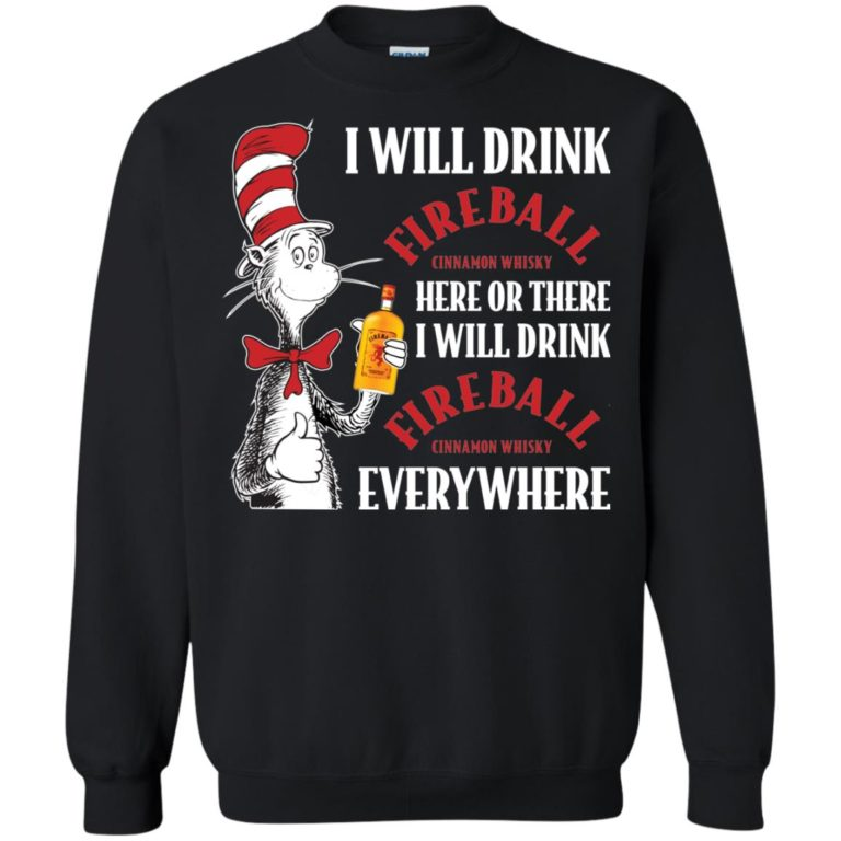 image 103 768x768px I Will Drink Fireball Here or There T Shirts, Hoodies, Tank Top