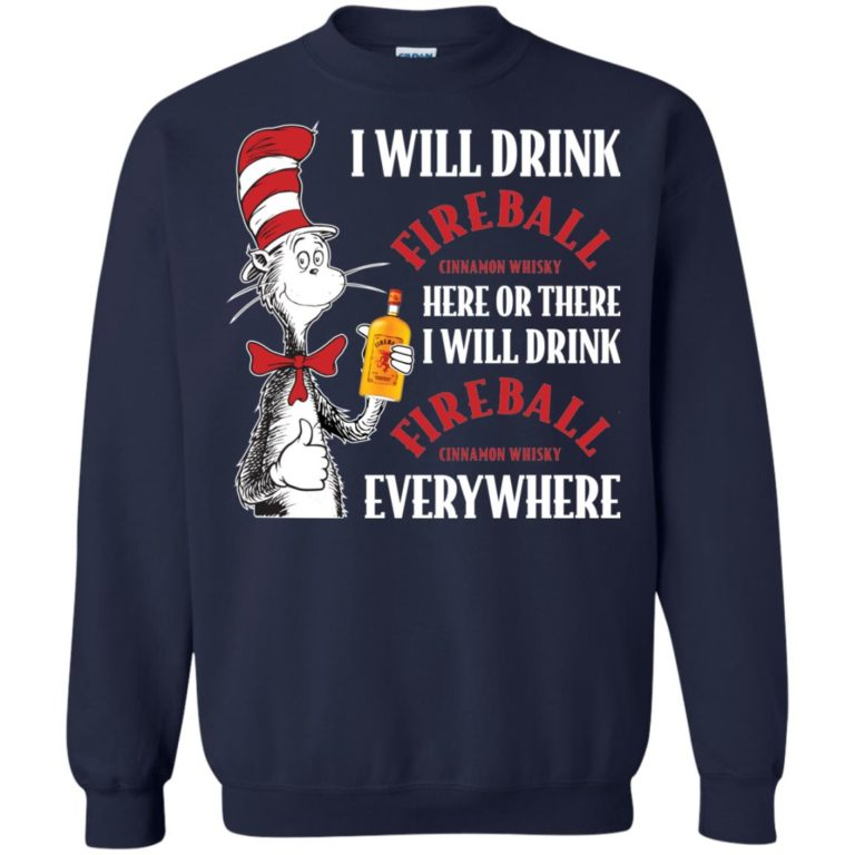 image 104 768x768px I Will Drink Fireball Here or There T Shirts, Hoodies, Tank Top