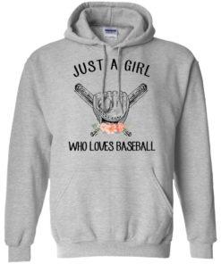 image 134 247x296px Just A Girl Who Loves Baseball T Shirts, Hoodies, Sweatshirt