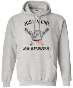 image 135 247x296px Just A Girl Who Loves Baseball T Shirts, Hoodies, Sweatshirt