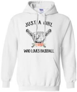 image 136 247x296px Just A Girl Who Loves Baseball T Shirts, Hoodies, Sweatshirt