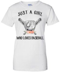 image 141 247x296px Just A Girl Who Loves Baseball T Shirts, Hoodies, Sweatshirt