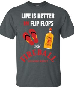 image 198 247x296px Life Is Better In Flip Flops With Firebal T Shirts, Tank Top