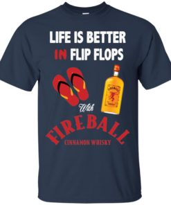image 199 247x296px Life Is Better In Flip Flops With Firebal T Shirts, Tank Top