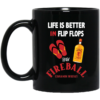 image 2 100x100px Life Is Better In Flip Flops With Jack Daniel's Coffee Mug