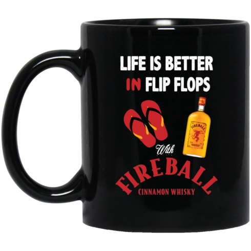 image 2 490x490px Life Is Better In Flip Flops With Firebal Mug