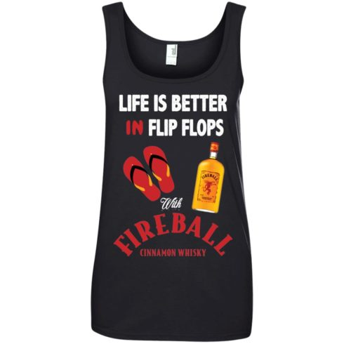 image 206 490x490px Life Is Better In Flip Flops With Firebal T Shirts, Tank Top