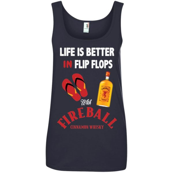 image 207 600x600px Life Is Better In Flip Flops With Firebal T Shirts, Tank Top