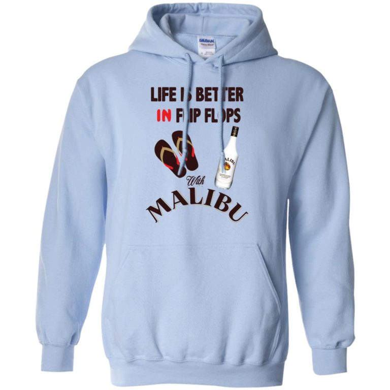 image 213 768x768px Life Is Better In Flip Flops With Malibu Rum T Shirts, Hoodies, Tank Top