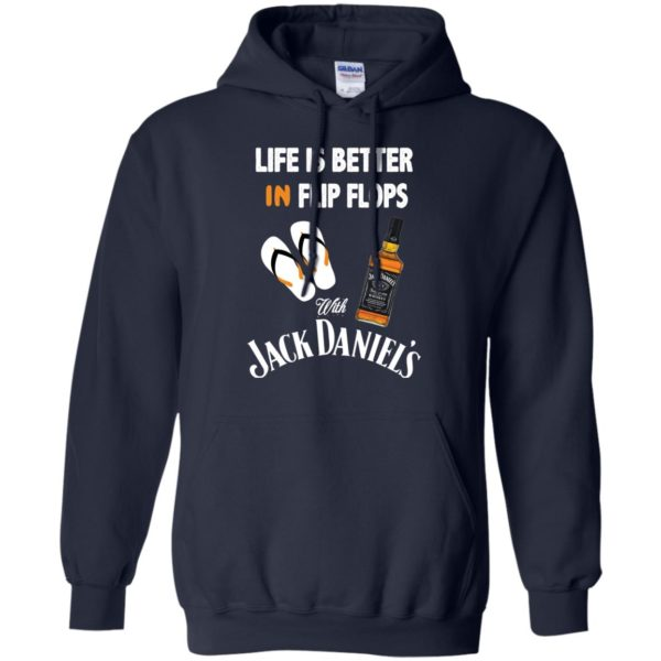 image 226 600x600px Life Is Better In Flip Flops With Jack Daniel's T Shirts, Hoodies