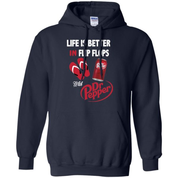 image 238 600x600px Life Is Better In Flip Flops With Dr Pepper T Shirts, Hoodies, Tank Top