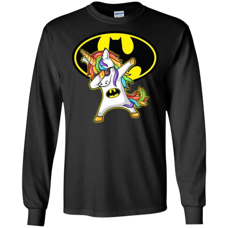 image 4 768x768px Unicorn Dabbing Batman Mashup T Shirts, Hoodies, Tank Top