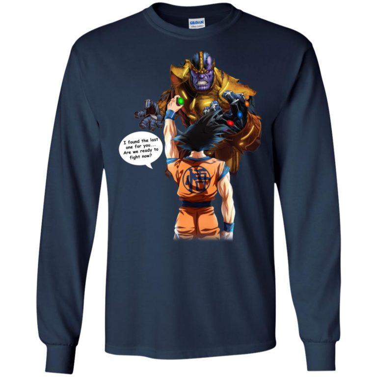 image 41 768x768px Songoku vs Thanos Mashup T Shirts, Hoodies, Tank Top