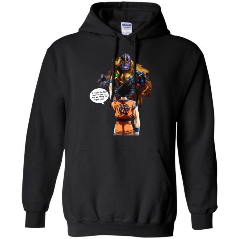 image 42 768x768px Songoku vs Thanos Mashup T Shirts, Hoodies, Tank Top