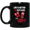 image 6 100x100px Life Is Better In Flip Flops With Jack Daniel's Coffee Mug