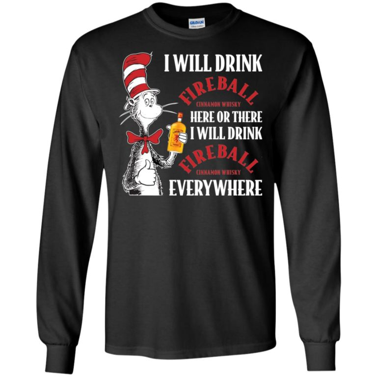 image 99 768x768px I Will Drink Fireball Here or There T Shirts, Hoodies, Tank Top