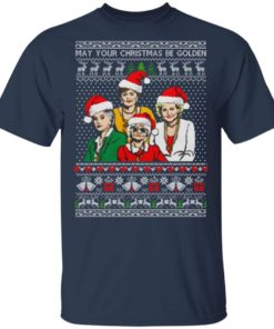 redirect 1350 247x296px Golden Girls May Your Christmas Be Golden Christmas Shirt
