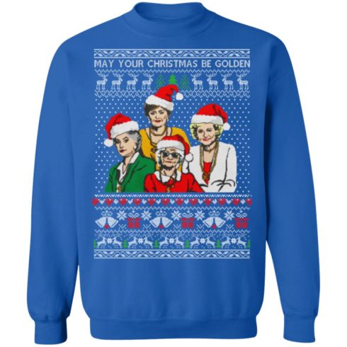 redirect 1358 490x490px Golden Girls May Your Christmas Be Golden Christmas Shirt