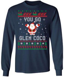 redirect 1363 247x296px You Go Glen CoCo Santa Christmas Shirt