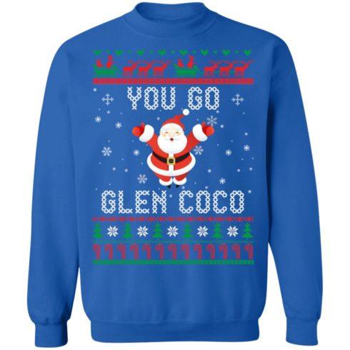 redirect 1368 490x490px You Go Glen CoCo Santa Christmas Shirt