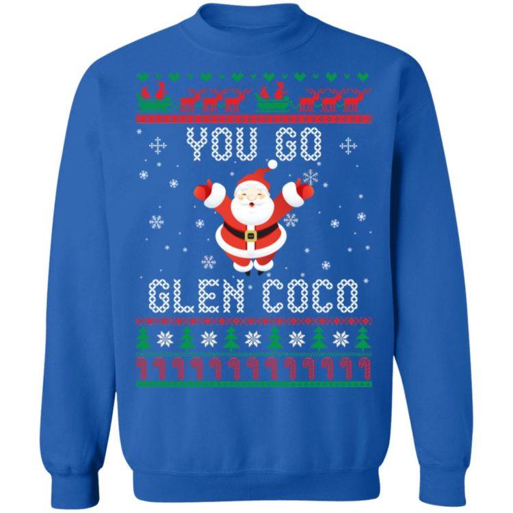 redirect 1368 750x750px You Go Glen CoCo Santa Christmas Shirt