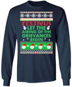 redirect 1373 247x296px Festivus Airing of the grievances begin Non Christmas Shirt