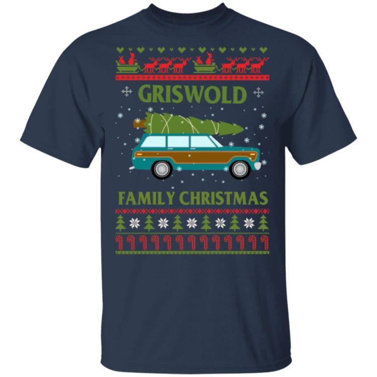 redirect 1410 750x750px Grisworld Family Christmas Shirt