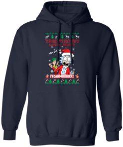 redirect 1504 247x296px I Turned Myself Into Santa Morty I'm Saint Riiiiick Christmas Shirt
