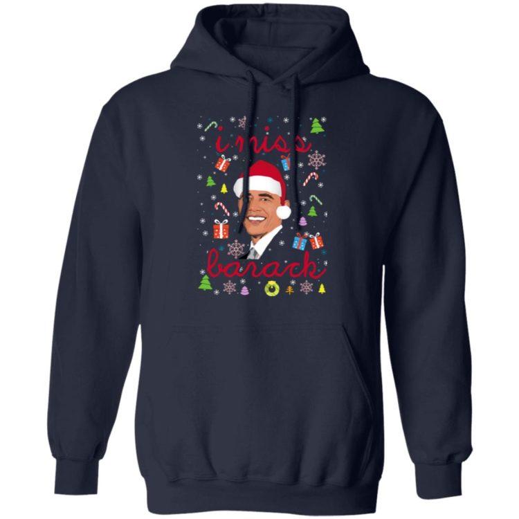 redirect 1554 750x750px I Miss Barack Obama Christmas Shirt