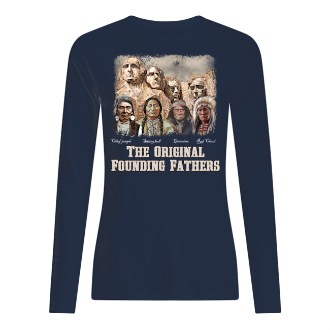 anspoyt926ctranpxyb6 7px The Original Founding Fathers Native American Shirt