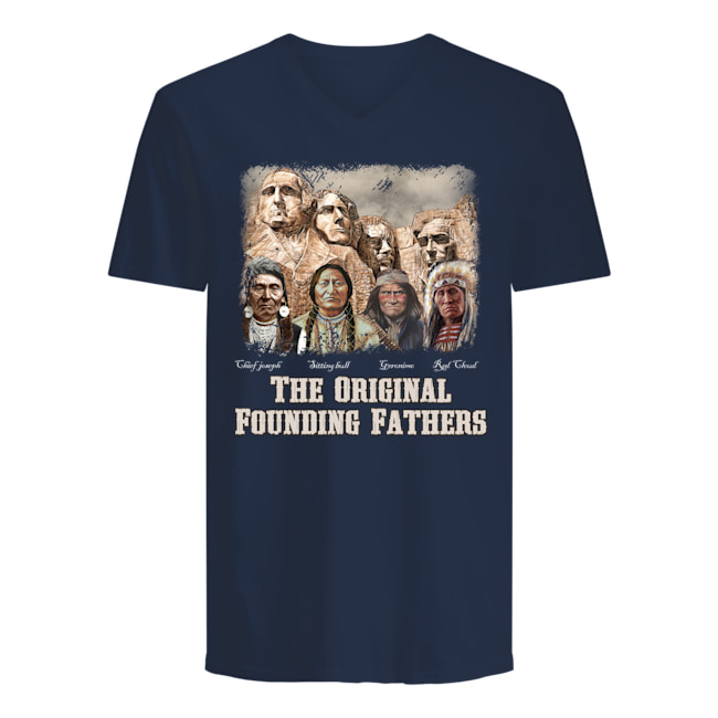 anspoyt926ctranpxyb6 9px The Original Founding Fathers Native American Shirt