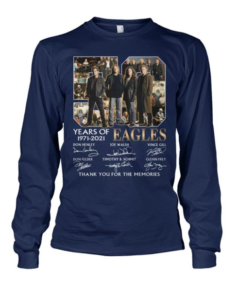 kZ9ynw K2GpBbR Evz8Oma front large 1 490x582px 50 Years Of Eagles 1971 2021 Thank You For The Memories Shirt