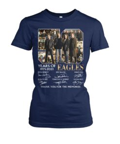 kZ9ynw XaReX1n 0mBEYLQ front large 1 247x296px 50 Years Of Eagles 1971 2021 Thank You For The Memories Shirt