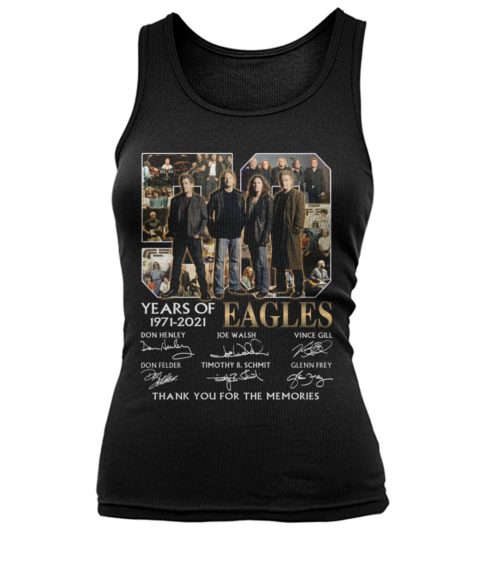 kZ9ynw bXl3DeZ 7LPlEb4 front large 1 490x582px 50 Years Of Eagles 1971 2021 Thank You For The Memories Shirt