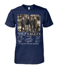 kZ9ynw vonb32a a1XaOEx front large 1 247x296px 50 Years Of Eagles 1971 2021 Thank You For The Memories Shirt