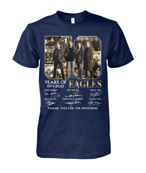 kZ9ynw vonb32a a1XaOEx front large 1 490x582px 50 Years Of Eagles 1971 2021 Thank You For The Memories Shirt