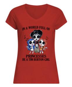 p7tqnpwrywqgkybclesw 10 1 247x296px In A World Full Of Princesses Be A Tim Burton Girl Shirt.