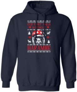 redirect 1884 247x296px Our First Xmas Without Harambe Christmas Shirt