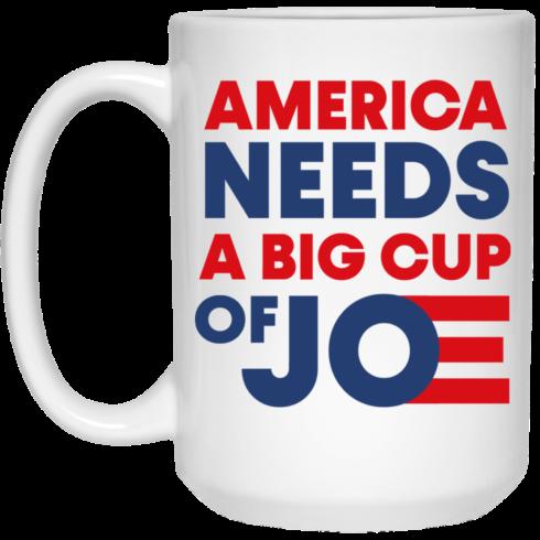 redirect 2 1 490x490px America Needs a Big Cup of Joe Biden 2020 Mug